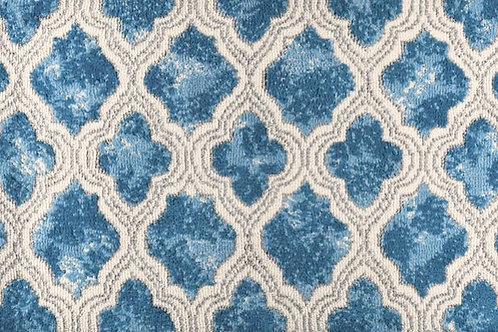 Blue Diamond Rug
