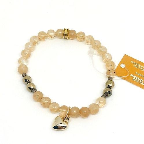 Chavis Heart Bracelet
