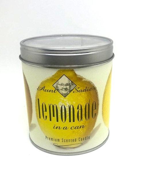 Aunt Sadie's Lemonade in a Can
