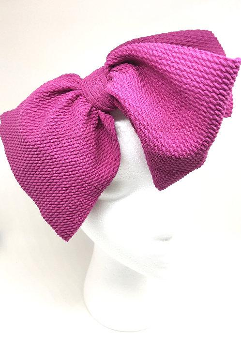 Purple Baby Bow headband