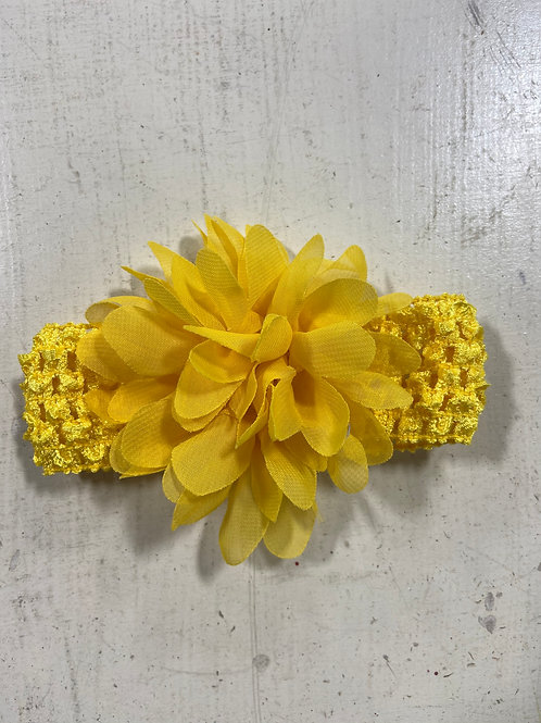 Yellow Baby Flower Headband