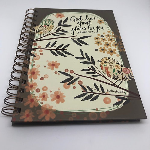 God Has Great Plans Journal