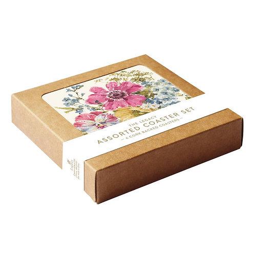Bouquet Coaster Set