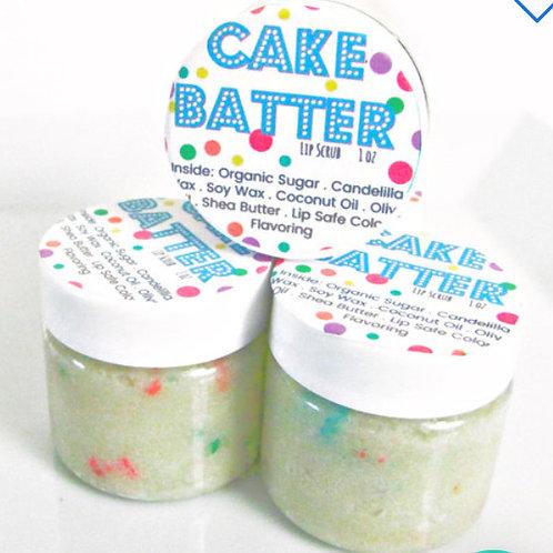 Cake Batter Lip Scrub