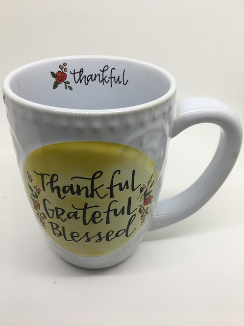 Tankful, Grateful, Blessed Coffee Cup