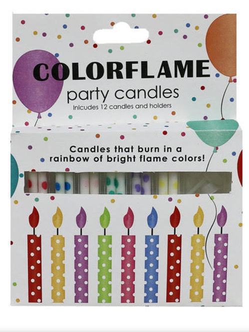 ColorflameParty Candles