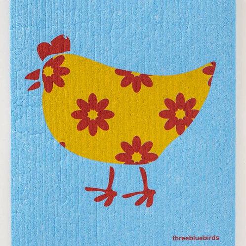 Happy Hen Sweedish Dishcloth