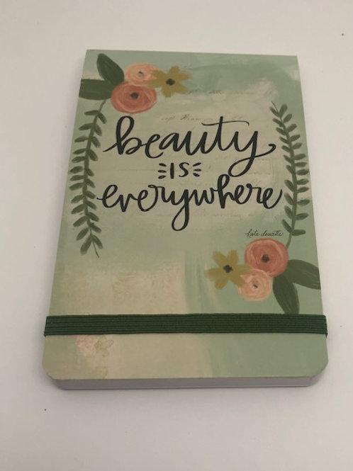 Beauty is Everywhere Purse Notebooks