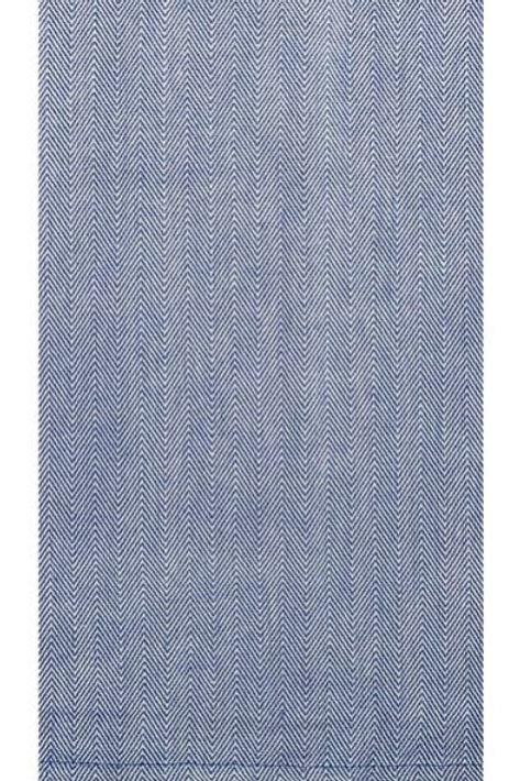 Herringbone Blue Tea Towel