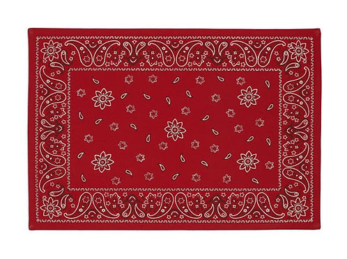 Red Bandanna Placemat