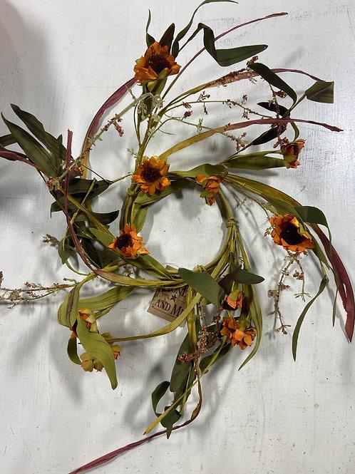 Medium Sunflower Candle Ring