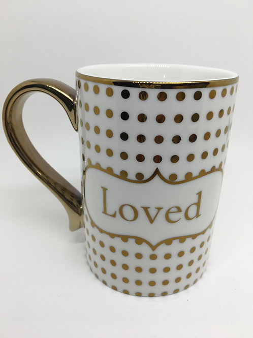 Loved Coffee Cup