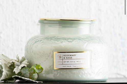 16 OZ Rosemary and Sage Candle