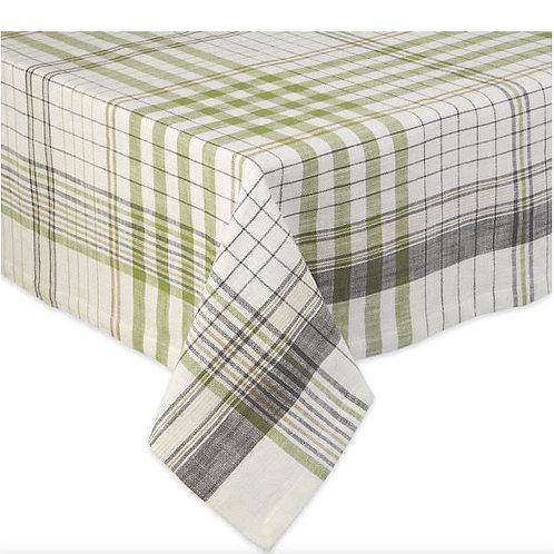 "Herb Garden Plaid Table Cloth 60"" X 84"""