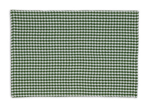 Basil Green Houndstooth Placemat