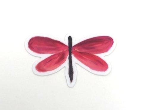 Dragonfly Vinyl Sticker