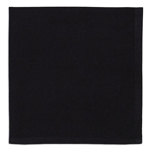 Black Cloth Napkin