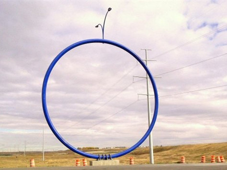 The Blue Hula Hoop: An Interpretation