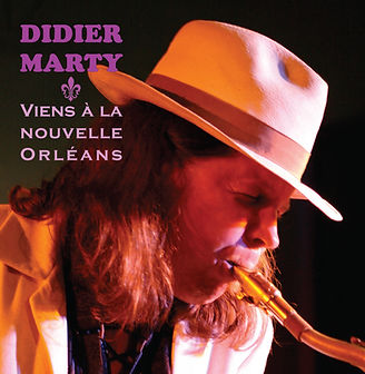 """CD """"Viens à la nouvelle Orleans"""" Didier Marty"""