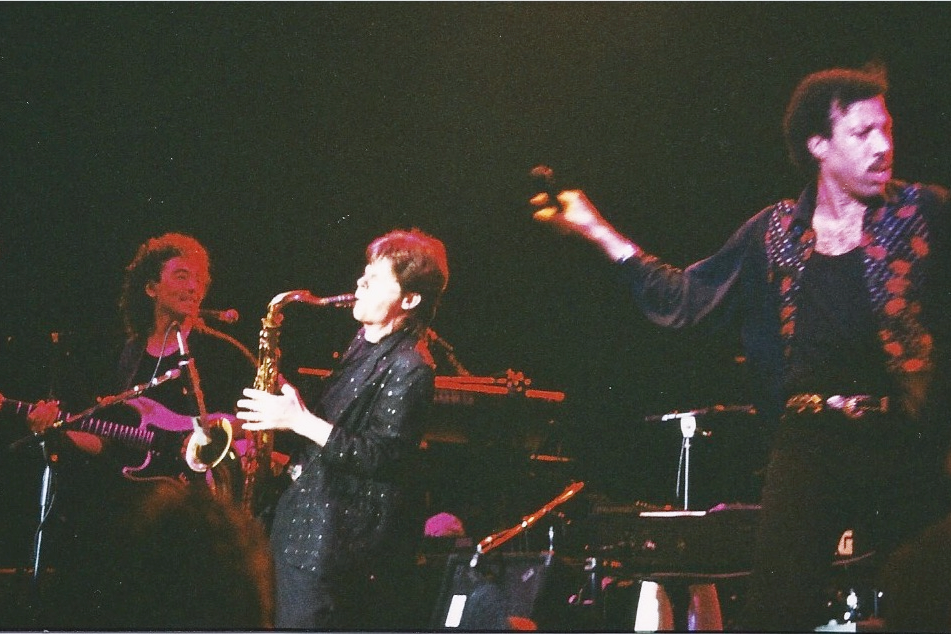 Avec Lionel Richie
