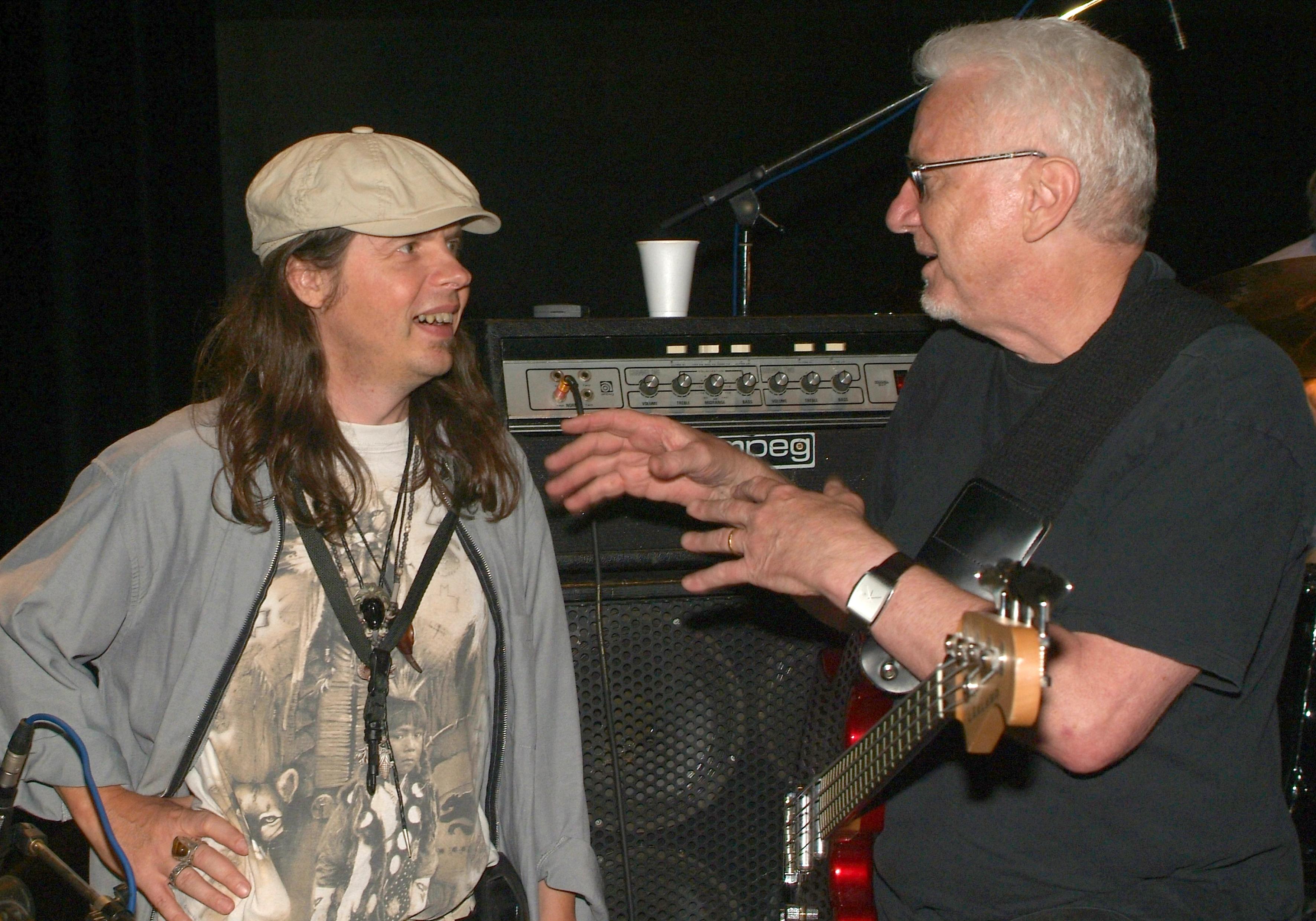 Avec Jerry Scheff