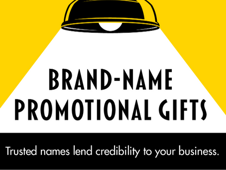 Brand Name Promotional Gifts