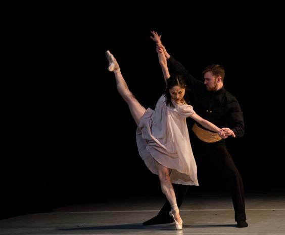 Ryoko Yagyu and Leigh Alderton