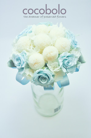 WEDDING BOUQUET│藍月 ONCE IN A BLUE MOON