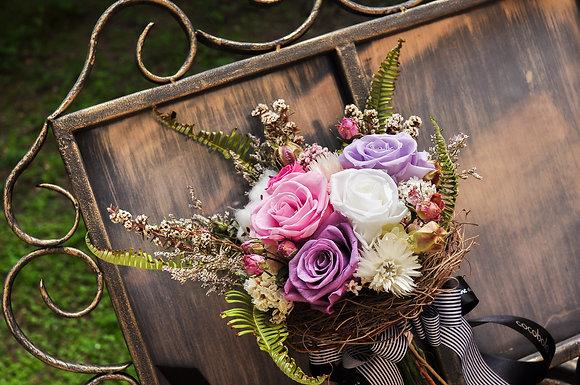 Catherine │美式簡雅新娘捧花