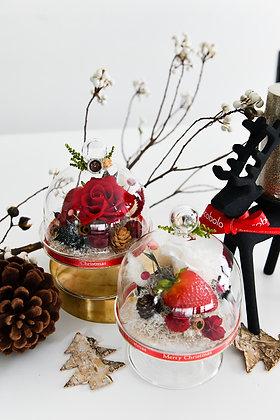 冬天的草莓蛋糕