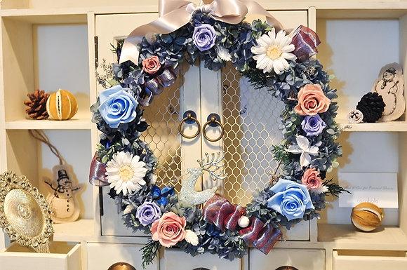 冬季恆星花圈│2016 Winter Wreath :Silver Linings