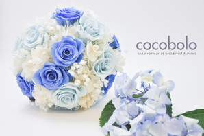 婚禮捧花 |WEDDING BOUQUET : SOMETHING BLUE
