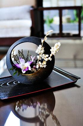 澪 │日式蘭花花禮 Orchid Centerpiece