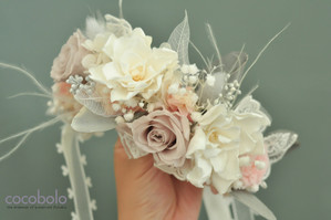 cocobolo 量身打造的美好提案 Audrey's Flower Crown / 空靈系夢幻花冠