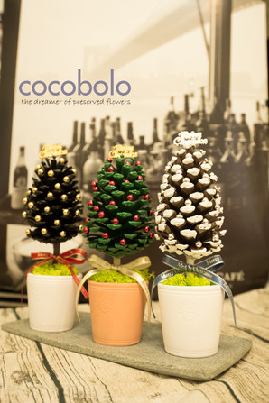 歡樂松果聖誕樹│PINECONE CHRISTMAS TREE