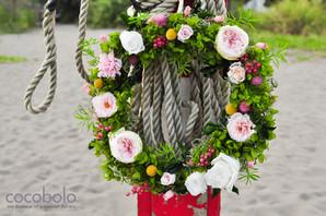 cocobolo Summer Wreath │日向夏 自然系花圈