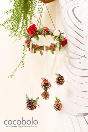 天使之環-聖誕立體花圈 CHRISTMAS CHANDELIER│ANGEL HALO