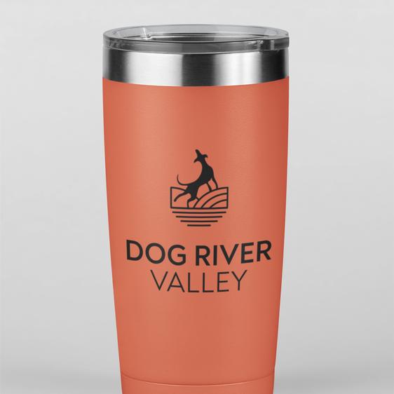 Travel Mug Dog River Valley