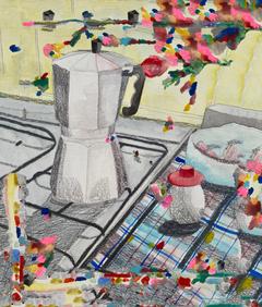 aquarela, lápis grafite e photoshop 2020