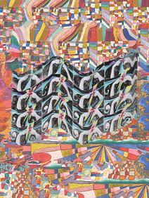 aquarela, lápis de cor, lápis grafite e photoshop 2020