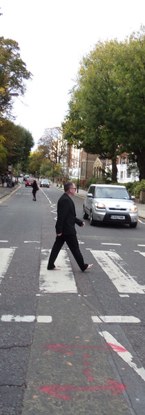 Crossing Abbey Road