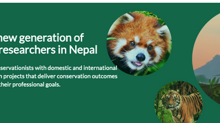 Launch of the Nepal Conservation Research Fellowship Website