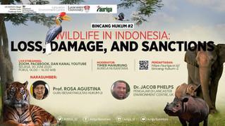 Auriga Webinar -- Wildlife in Indonesia: Loss, damage and sanctions