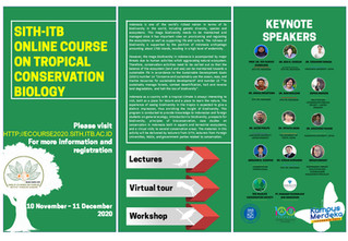 Online Course: Tropical biodiversity, bioprospecting & conservation in Indonesia