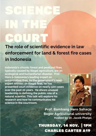 Lecture: Science in the Court