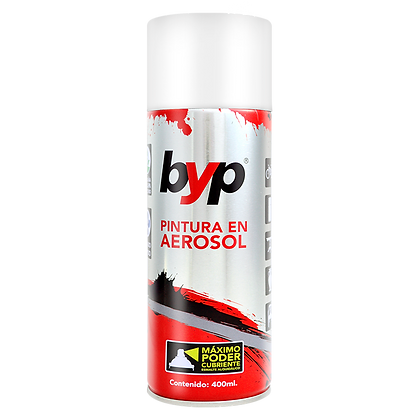 AEROSOL BLANCO MATE BYP 400 ML