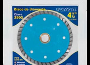 """DISCO D/DIAMANTE RIN SEGMENTADO 4-1/2"""" EASY CUT MOD:1505"""