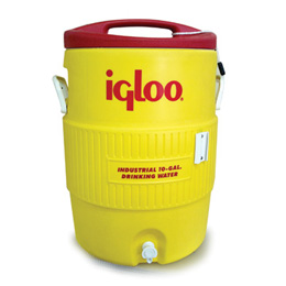 BOTE DE PLASTICO AMARILLO IGLOO 10 GAL, MOD: 4101