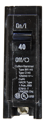 BREAKER WESTINHOUSE EATON 40 AMP SENCILLOBR140