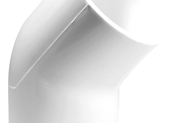 CODO 45 PVC 1/2